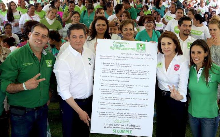 Firma Lorena Dec Logo A Favor Del Medio Ambiente