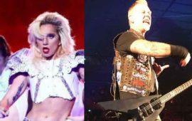 Metallica y Lady Gaga juntos en los Grammy