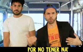 """Derbez y Werevertumorro parodian """"Súbeme la radio"""" de Enrique Iglesias"""