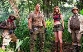 """Jumanji: Welcome to the jungle"""