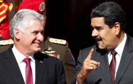 venezuela-y-cuba-reafirman-lazos-en-primera-visita-de-diaz-canel-a-maduro